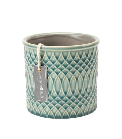 Burgon & Ball Morocco Glazed Plant Pot