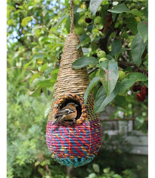 Tahera Teardrop Artisan Bird Nester