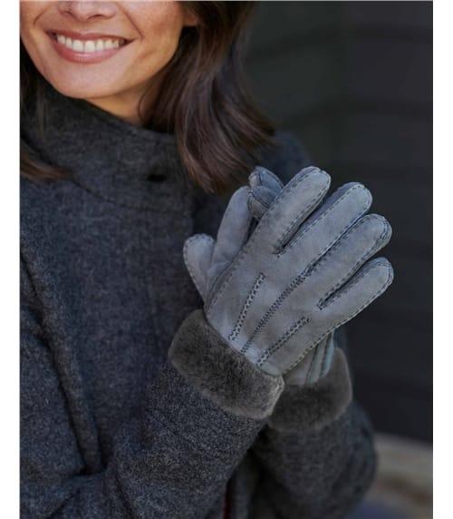 Classic Sheepskin Glove with Cuff