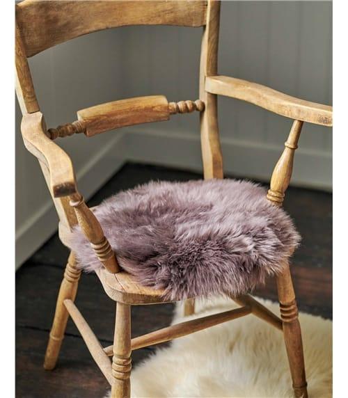 Коврик на стул из овчины
