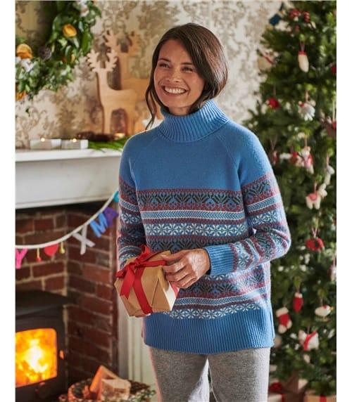 Женский свитер из шерсти мериноса
