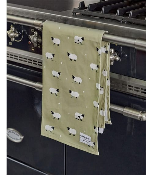 Sheep Cotton Tea Towel
