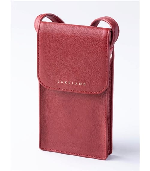 Wray Leather Cross Body Phone Pouch