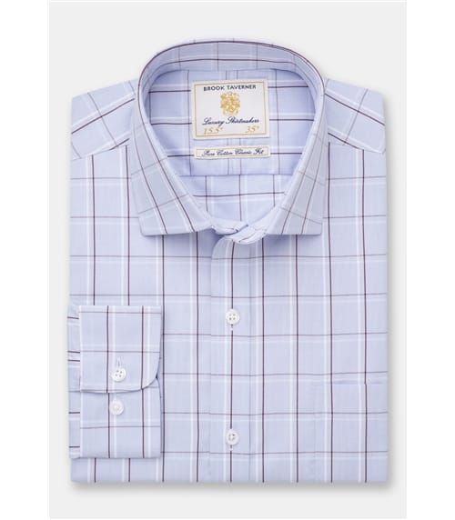 Bold Stripes and Check Shirt