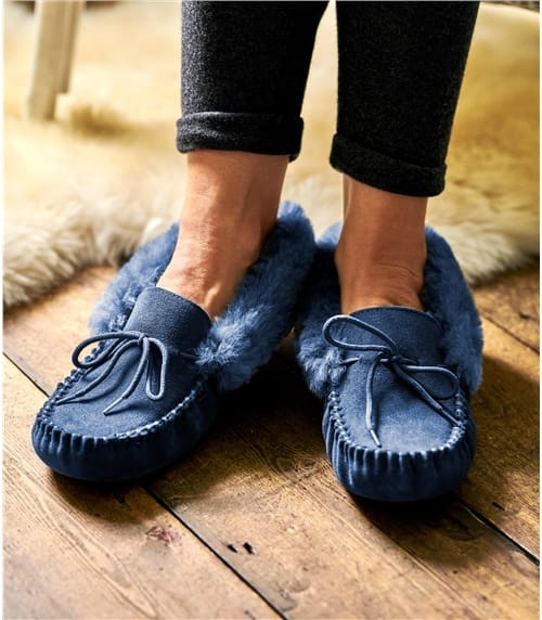 Womens Sheepskin Moccasin