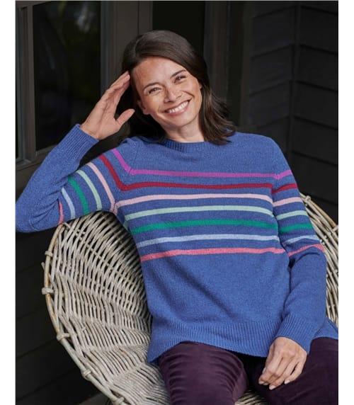 Multi Colour Stripe Jumper