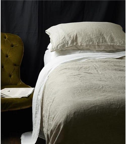 Woolovers X Piglet King Linen Duvet Cover