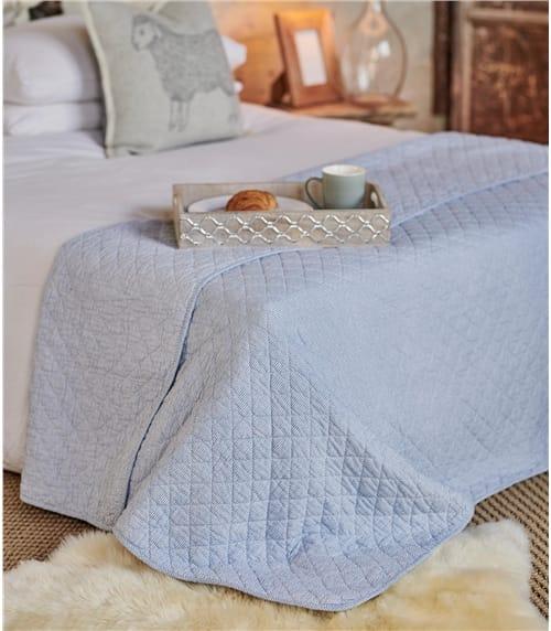 Bedruckte Steppdecke aus Baumwolle