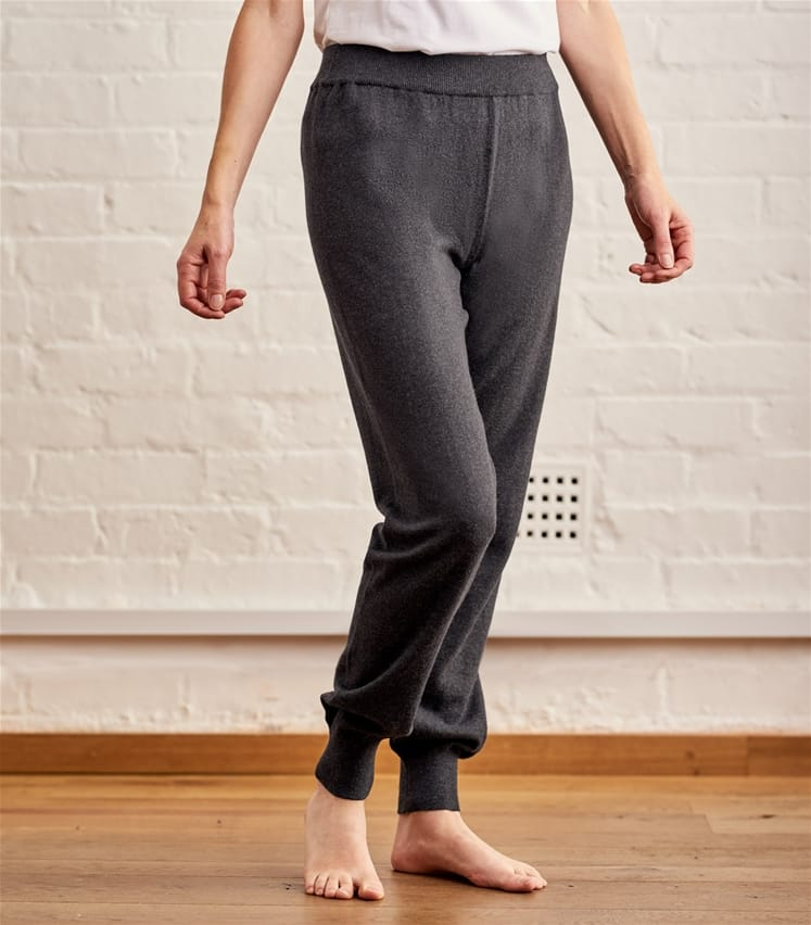 Womens Cashmere and Cotton Lounge Pants