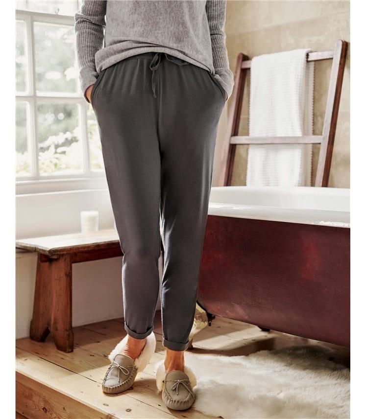 Pantalon détente - Femme - Bambou mélangé