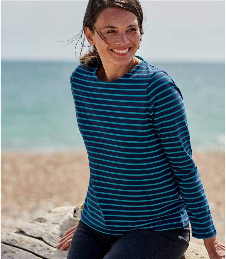 Womens Organic Cotton Crew Neck