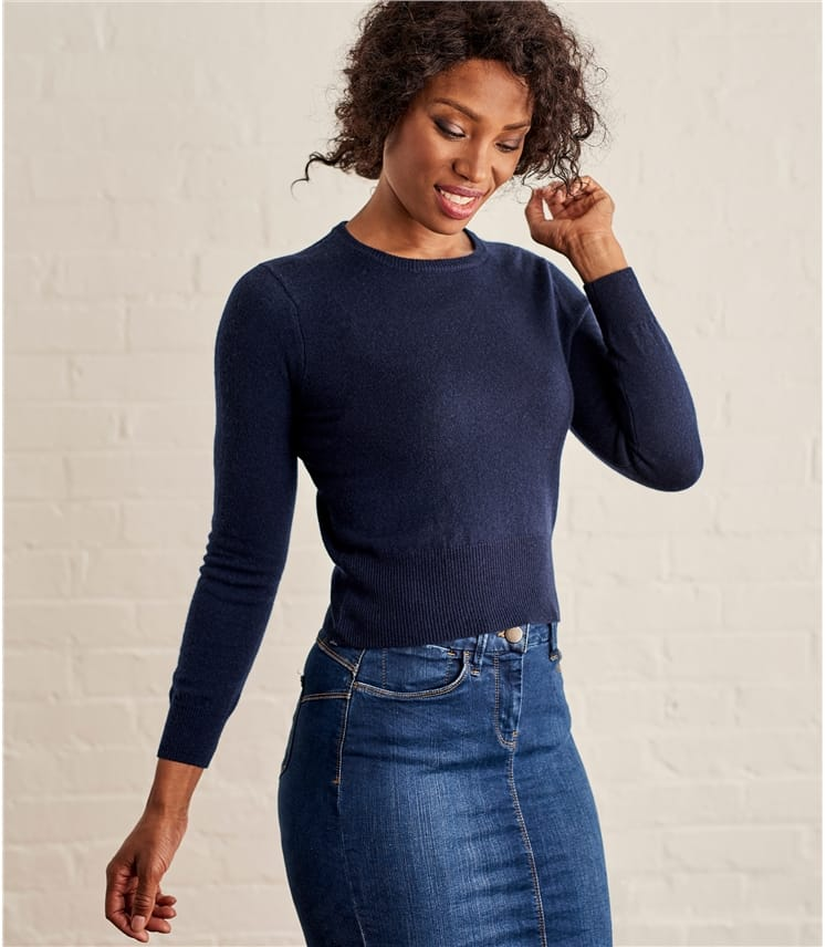 Womens Cropped Jumper