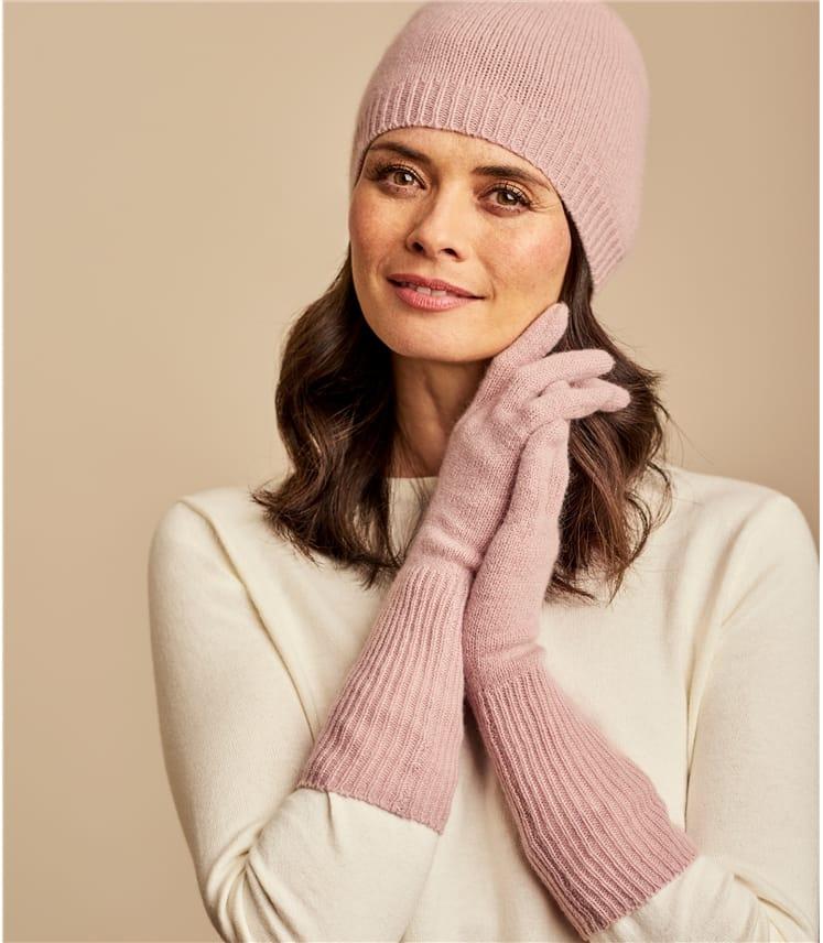 Bonnet luxueux - Femme - Pur Cachemire