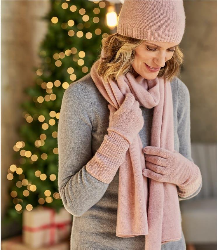 Womens Premium Pure Cashmere Scarf