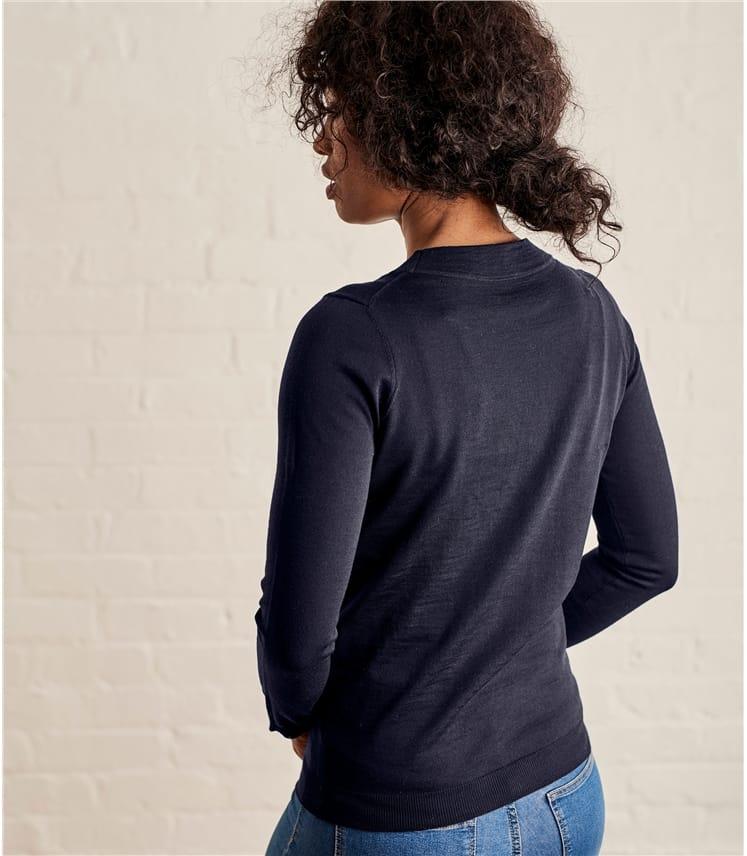 Womens Lightweight 100% Merino Sweater