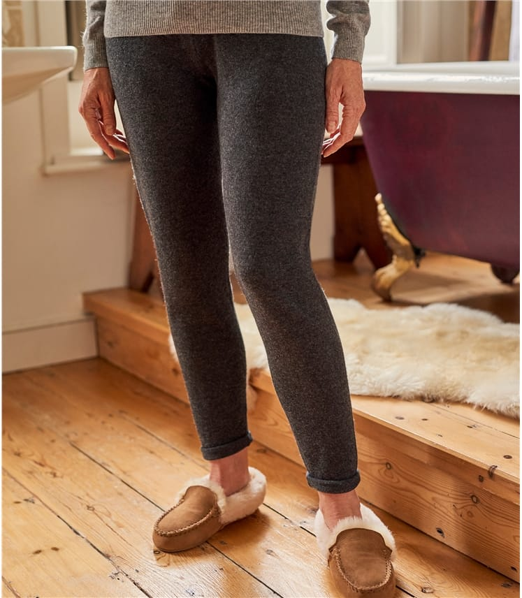 Womens Cashmere Merino Luxe Lounge Pants
