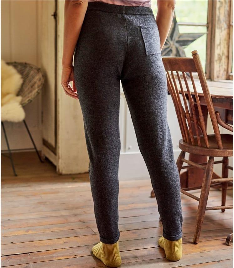 Pantalon Détente luxueux - Femme - Cachemire & Mérinos
