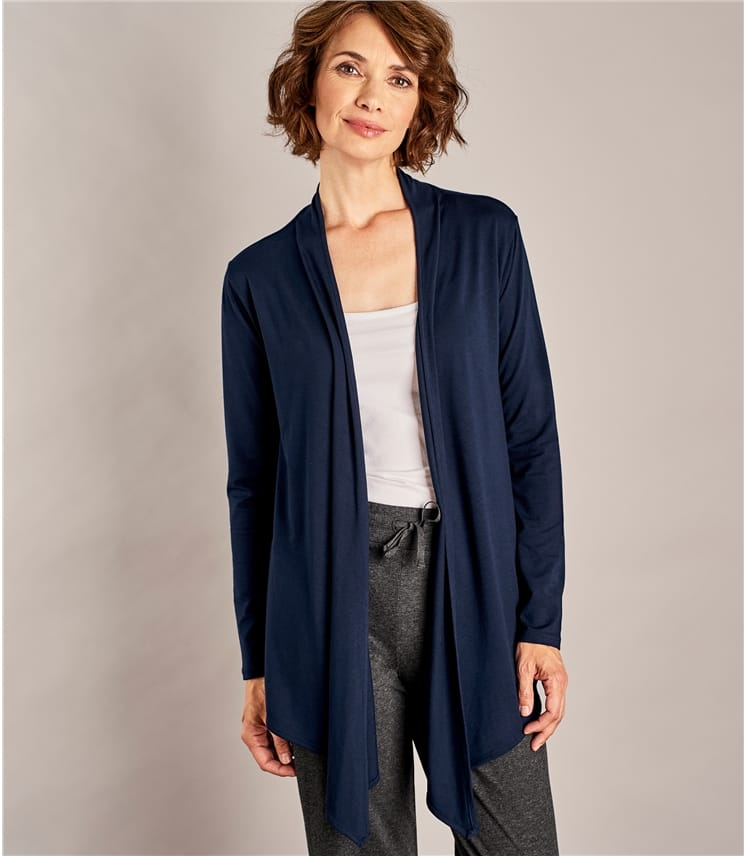 6f7a29a3bcb Womens Waterfall Cardigan