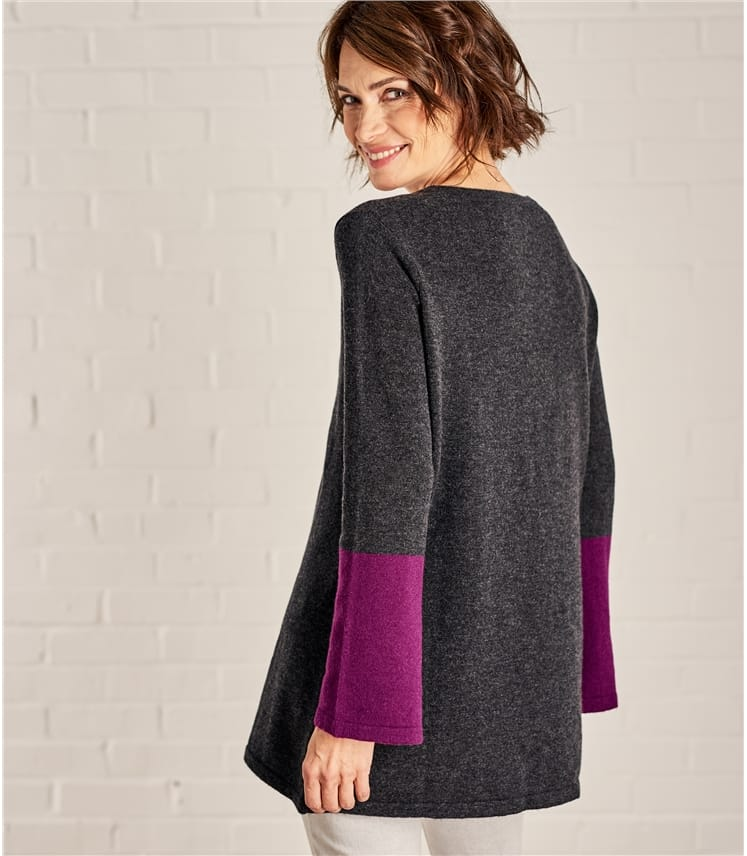 Womens Colour Block Tunic