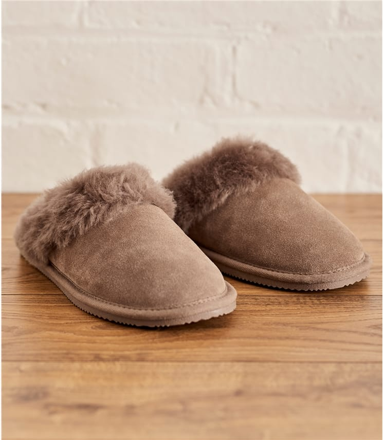 Womens Sheepskin Mule Slipper