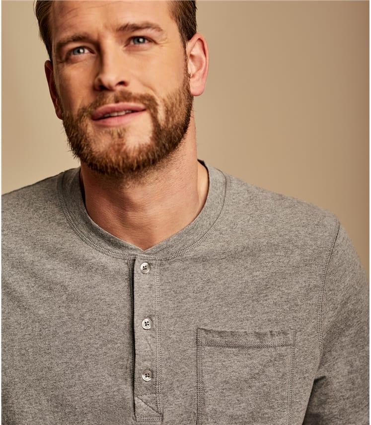 T-shirt à col boutonné - Homme - Jersey