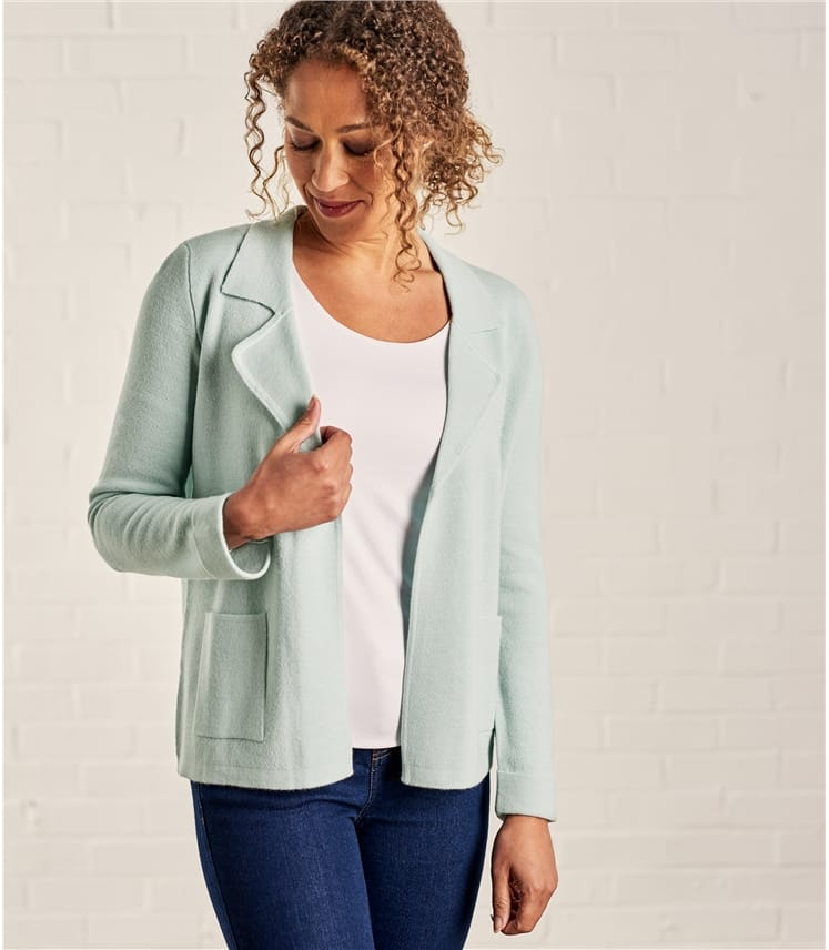 Womens Milano Short Collared Jacket