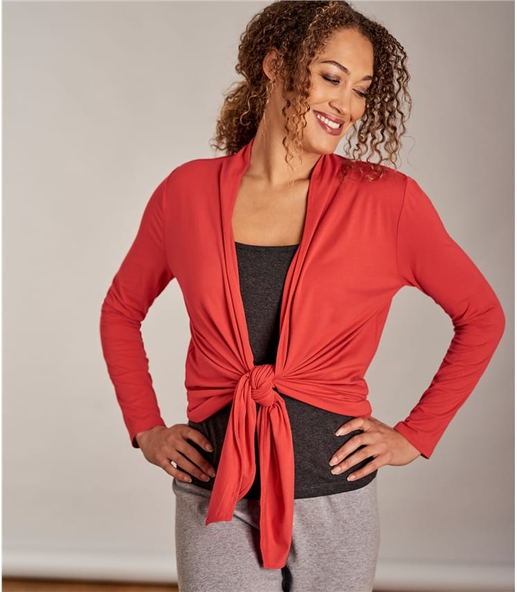 Womens Waterfall Cardigan