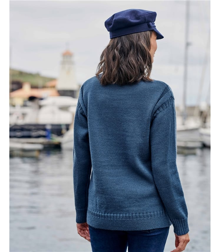 100% Pure Wool Guernsey Jumper