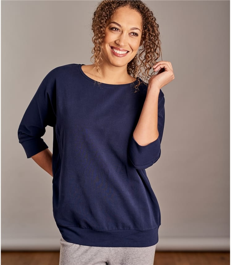 Womens Brushed Lounge Sweatshirt