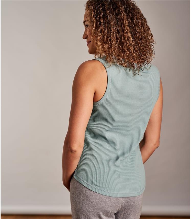 Womens Rib Vest