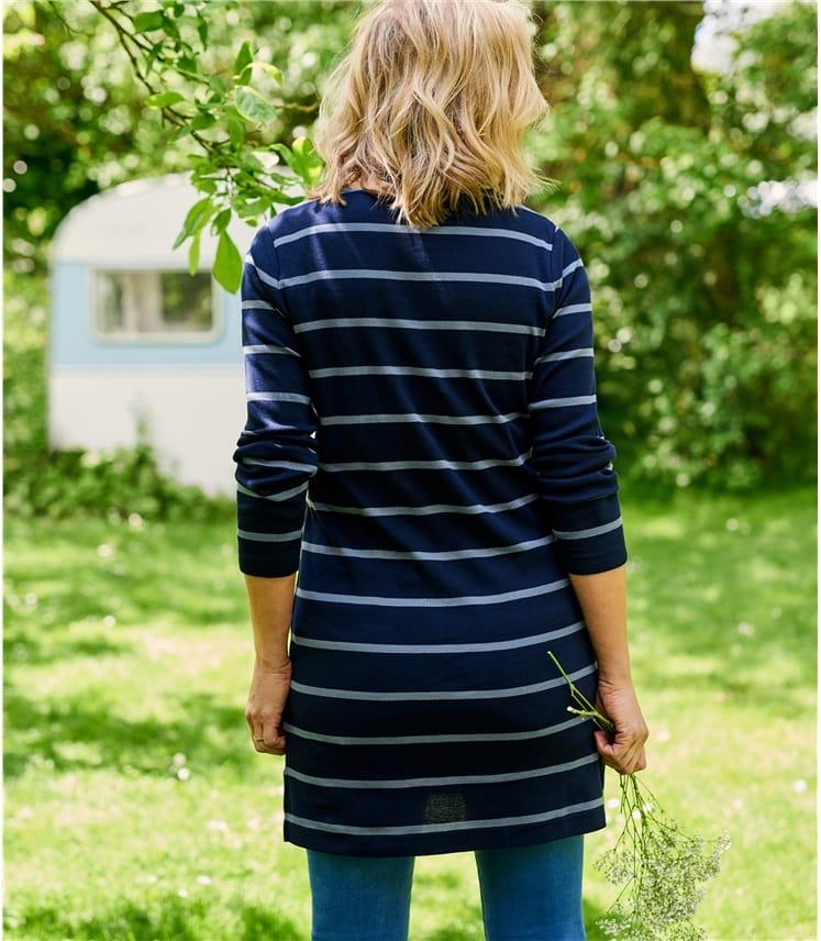 Tunique à coupe droite - Femme - Pur Coton