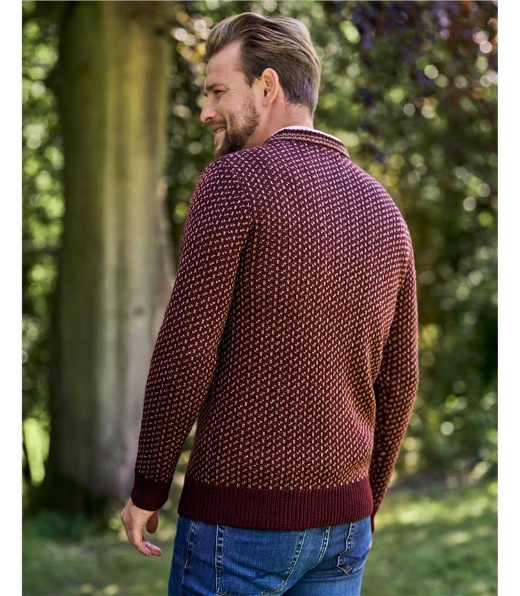 Pure Wool Double Stitch Sweater