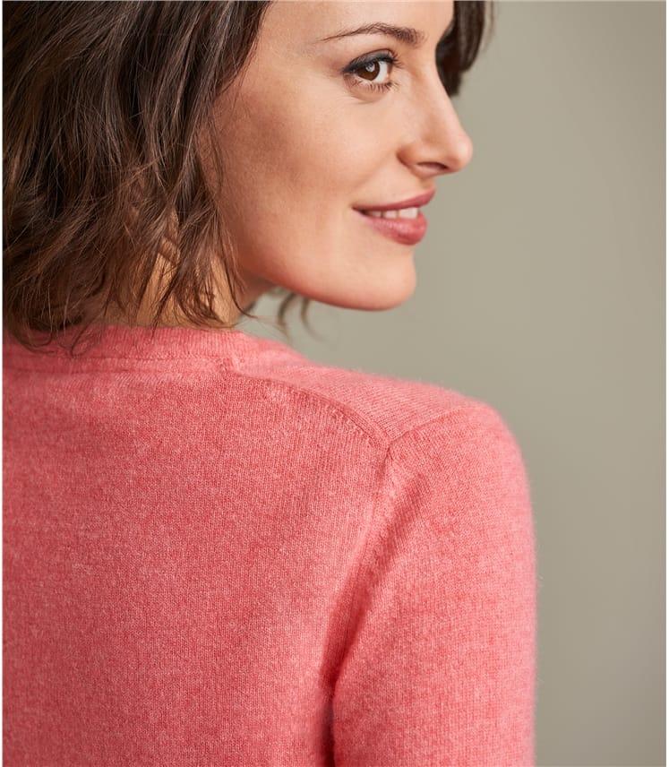 Женский пуловер из натурального кашемира