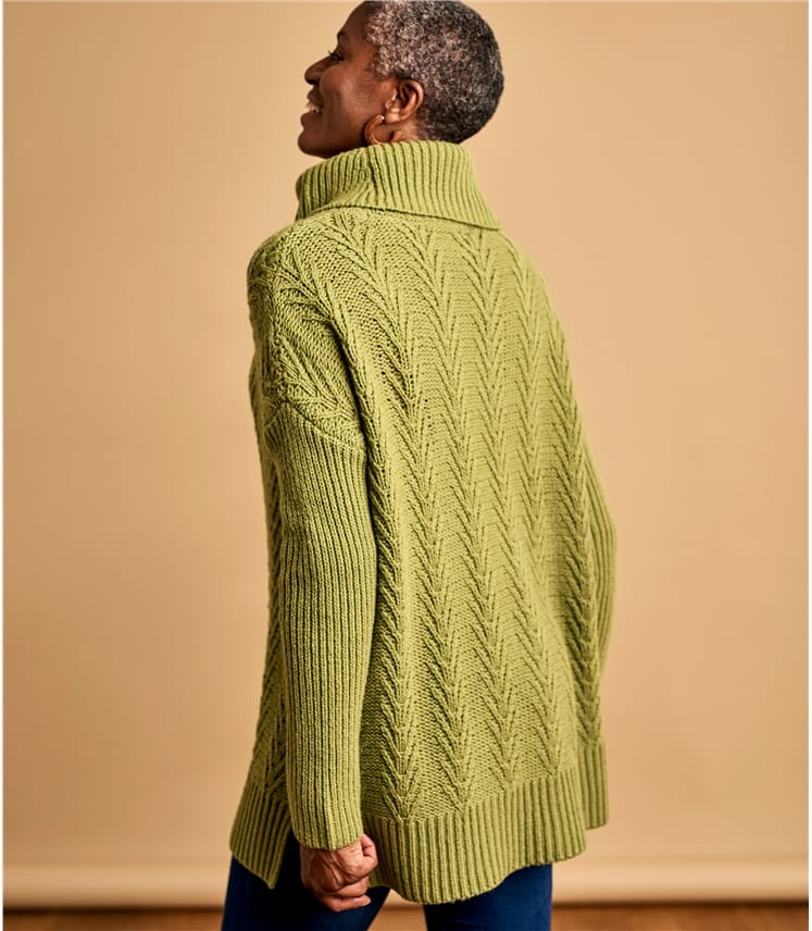 Womens Fern Stitch Jumper