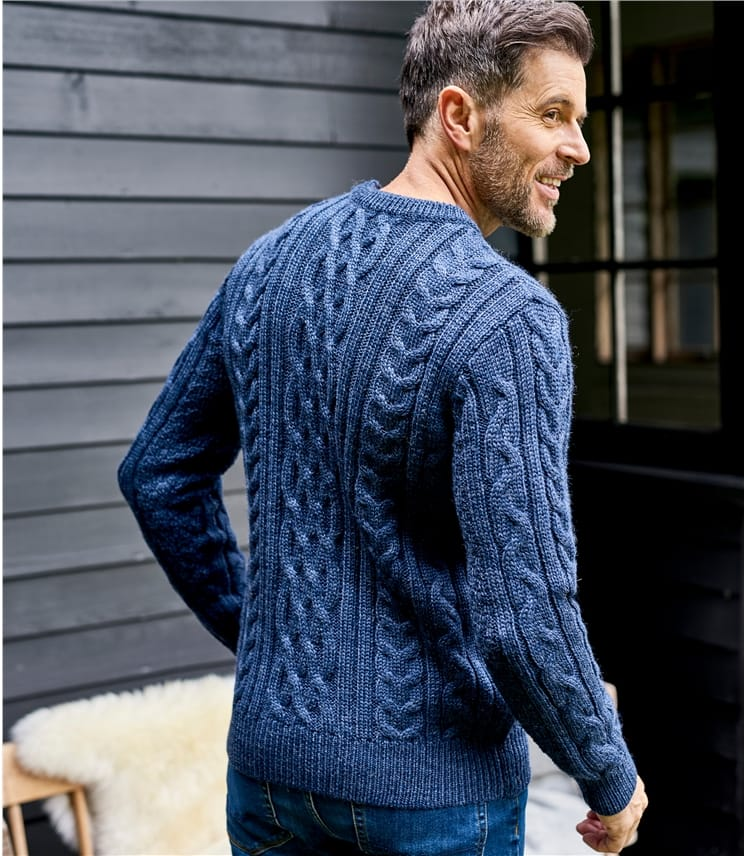 Pull irlandais - Homme - Pure Laine
