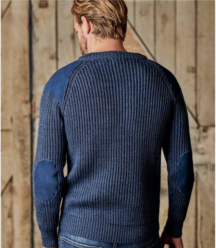 Countryman-Pullover aus reiner Wolle für Herren