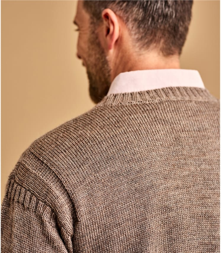 Pull Guernsey - Homme - Pure Laine