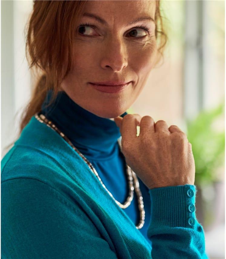 Boléro avec poignets boutonnés - Femme - Cachemire & Mérinos