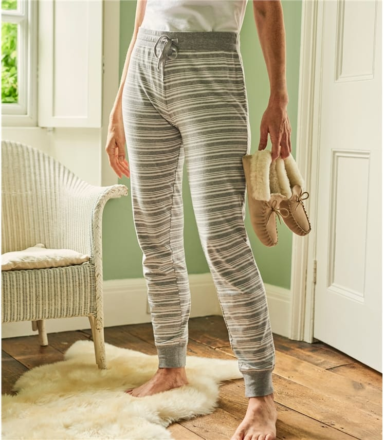 Womens Jersey Pyjama Bottoms