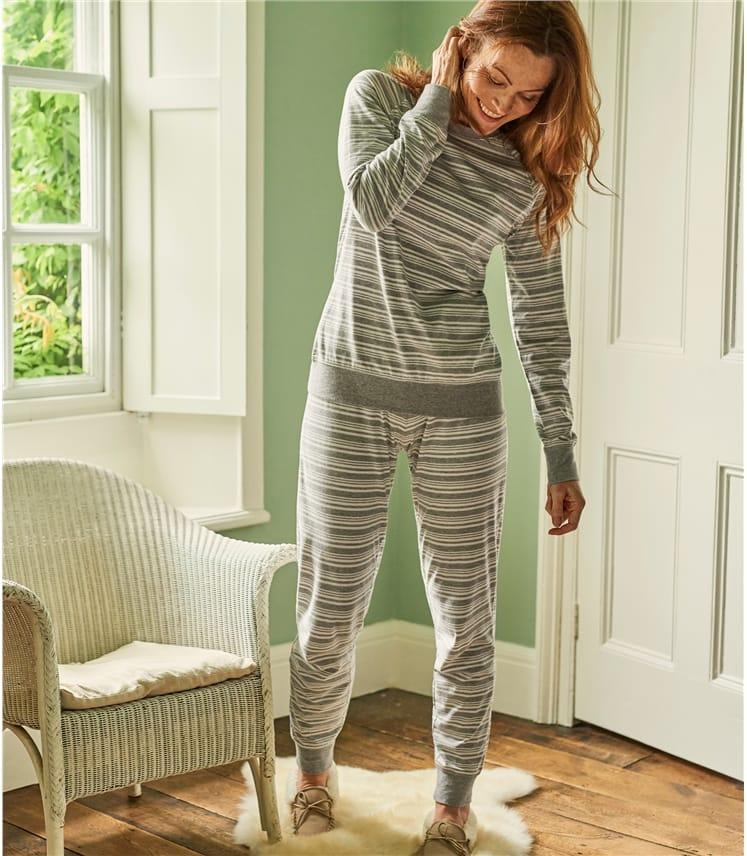 Womens Jersey Pyjama Top