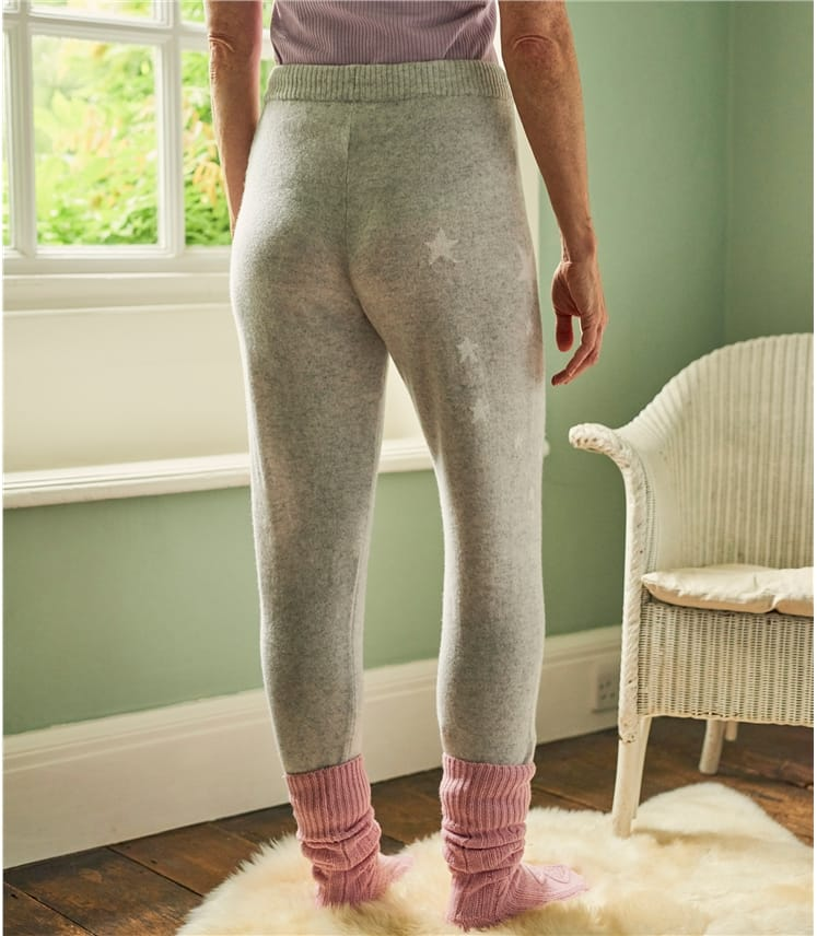 Womens Star Placement Joggers