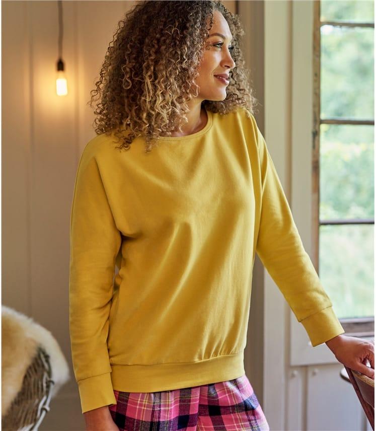 Womens Oversized Super Soft Long Sleeve Sweatshirt