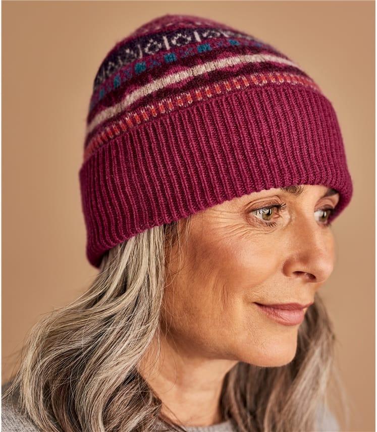 Womens Fairisle Hat