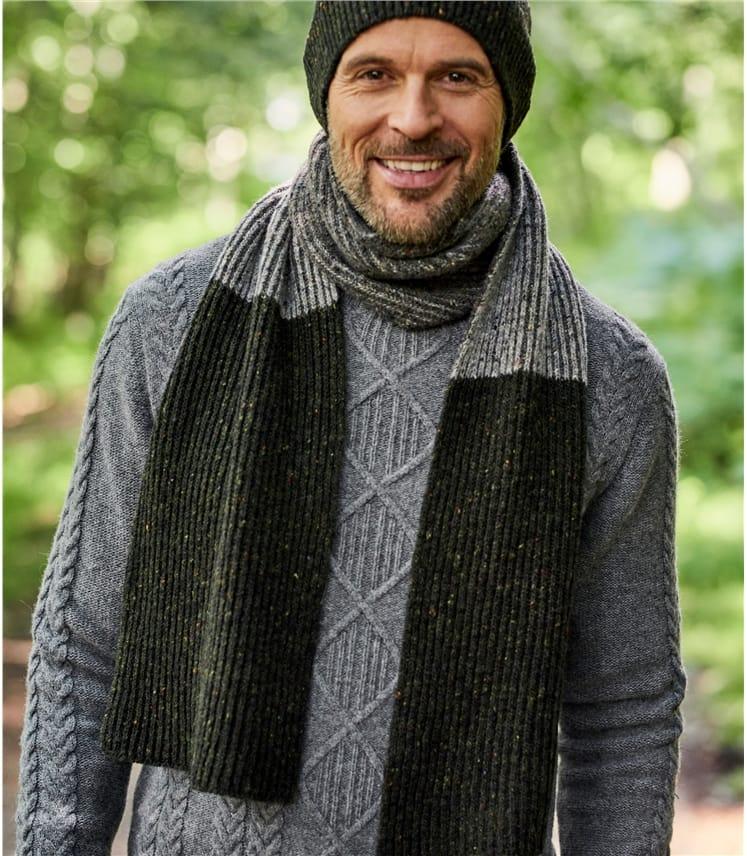 Mens Donegal Tweed Look Hat