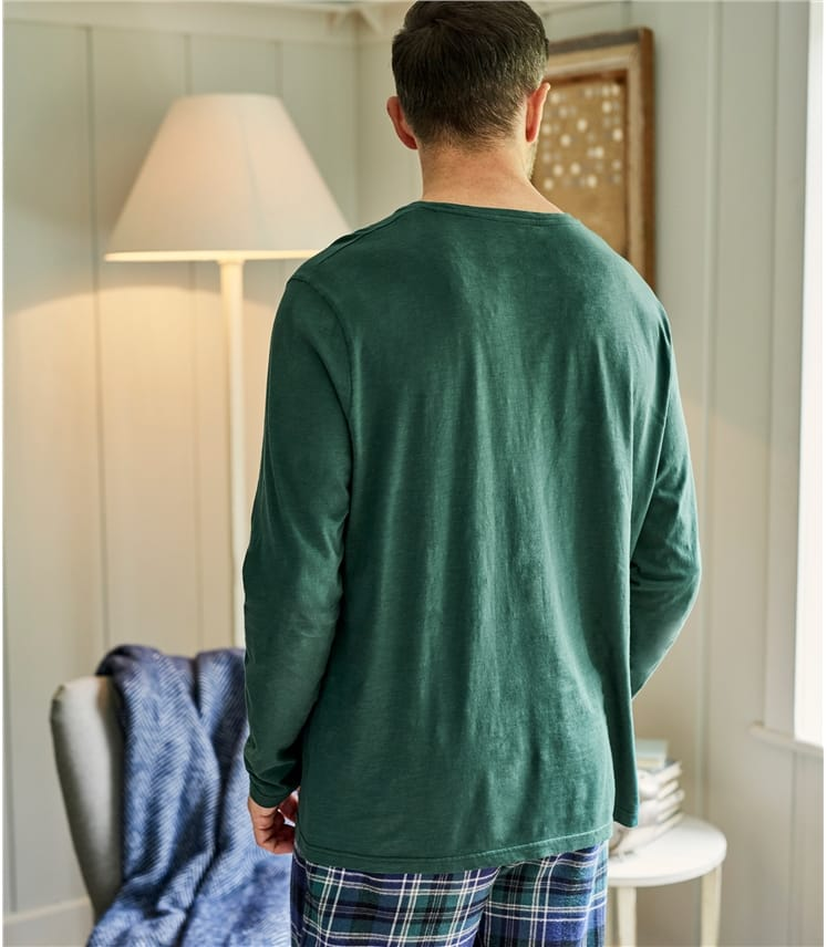 Mens Organic Cotton Long Sleeve T-Shirt