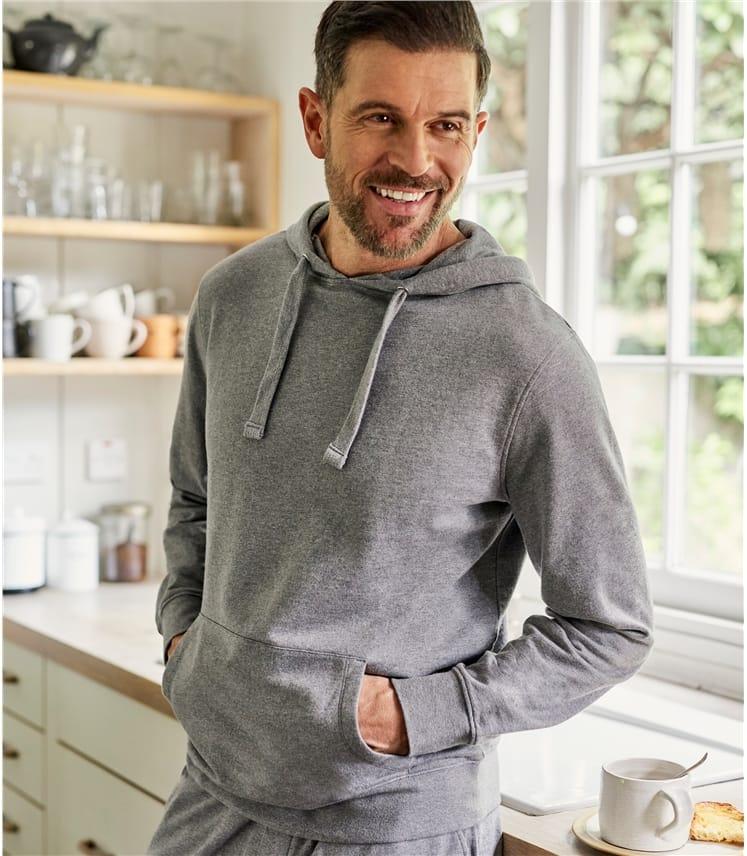 Sweat-shirt à capuche - Homme - Jersey