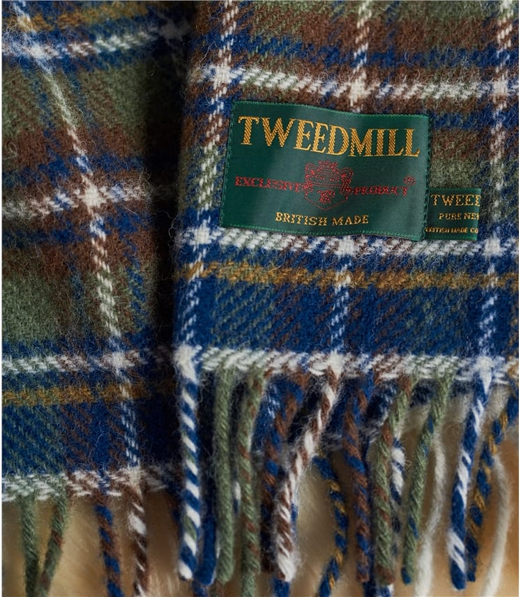 Traditional Pure Wool Throw