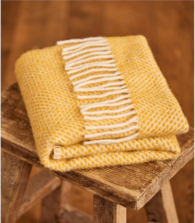 Pure New Wool Pram Blanket