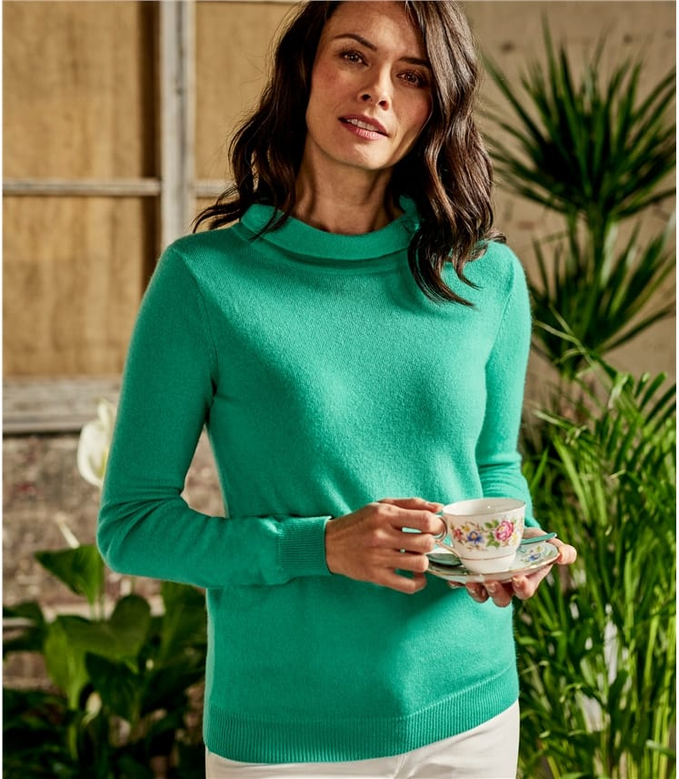 Womens Jackie Roll Neck