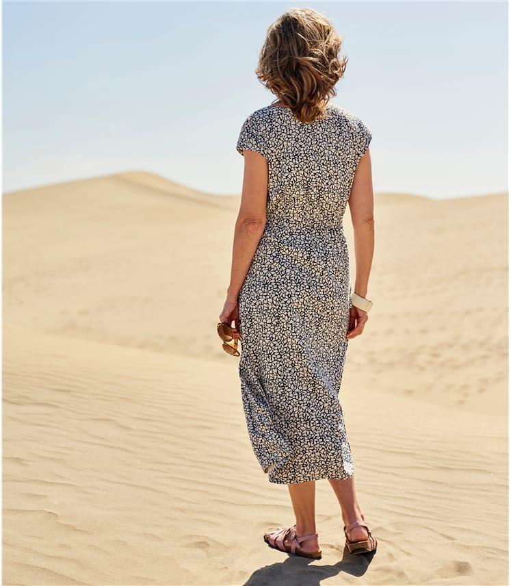 Grown On Sleeve Jersey Dress